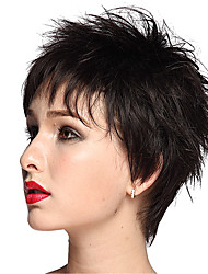 Short Black Wig Capless Synthetic Wig Natural Wigs Wigs for Women Costume Wigs Cosplay Wigs