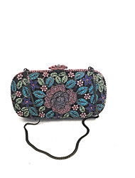 Women Vintage Floral Design Clutch Evening Rhinestone for Evening/Event/Party/Cocktail/Dinner /Wedding Occasion