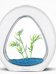 Mini aquariums Ornements Ajustable Noctilumineux Sans Bruit Non toxique & Sans Goût Stérilisé Artificiel Comprend Interrupteur(s)