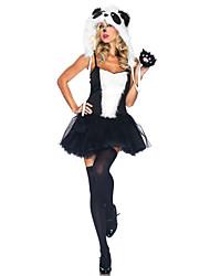 Costumes de Cosplay Animal Fête / Célébration Déguisement d'Halloween Autres Robe Gants Chapeau Halloween Féminin Spandex Térylène