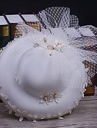 Tulle fabric net headpiece-wedding специальный случай случайные наружные шляпы 1 шт.