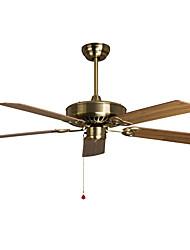 Ventilateur de plafond ,  Traditionnel/Classique Retro Rustique Bronze Fonctionnalité for Designers MétalSalle de séjour Salle à manger