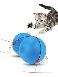 Игрушка для котов Игрушка для собак Игрушки для животных Шарообразные Интерактивный Электроника Пластик