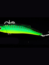 """1 pcs Metal Bait Fishing Lures Pike Green golden tiger Dark Red g/Ounce,120 mm/4-3/4"""" inch,Metal Bait Casting"""