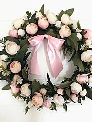 1 Une succursale Soie Roses Fleurs artificielles