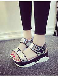 Женские каблуки весенние ползунки комфорт pu casual