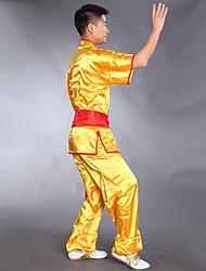 Ensemble de costume d'arts martiaux costume de performance à manches courtes martiales