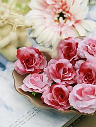 Свадебные цветы Розы Декорации Свадебное белье Партия / Вечерняя Подарок Атлас Около 3 см