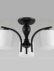 Flush Mount ,  Vintage Country Others Feature for LED Metal Living Room Bedroom Dining Room Study Room/Office Entry