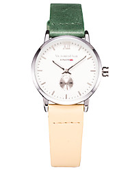 Women'sFashion Watch Wrist watch Casual Watch Japanese Quartz Japanese Quartz Water Resistant / Water Proof Genuine Leather Band