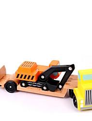 Kit de Bricolage Blocs de Construction Jouet Educatif Pour cadeau Blocs de Construction Camion Bois 2 à 4 ans 5 à 7 ans Jouets