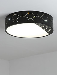 Flush Mount   Modern/Contemporary for LED Metal Living Room Bedroom Dining Room Kitchen Kids Room