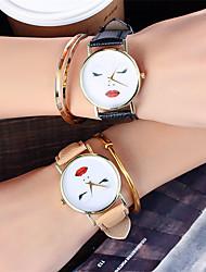 Ladies Fashion Quartz Watch Women Face Leather Casual Dress Women's Watch Reloje Mujer Montre Femme