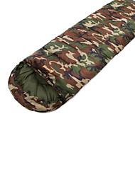 Saco de dormir Retangular Solteiro (L150 cm x C200 cm) 15 Algodão T/C 210X75 Campismo Á Prova de Humidade Mantenha Quente 自由之舟骆驼