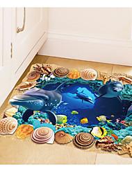 Животные Натюрморт 3D Наклейки Простые наклейки Декоративные наклейки на стены,Бумага материал Украшение дома Наклейка на стену