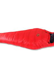 Sleeping Bag Mummy Bag Single -20 -10 T/C Cotton 210X80 Camping Moistureproof/Moisture Permeability Keep Warm