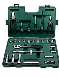 Sata® 09501 ferramenta do reparo do conjunto da ferramenta 26pcs do agregado familiar