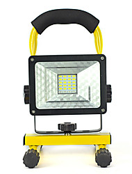 20W 24 LED Floodlight Movable Portable Rechargeable Spotlight Red Blue Warning Light Outdoor Night Emergency/Camping Light