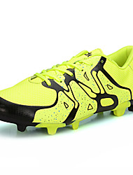 Soccer Cleats Football Boots Men's Anti-Slip Anti-Shake/Damping Wearproof Breathable Outdoor Low-Top PVC Leather Soccer/Football