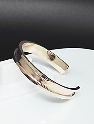 Women's Bangles Fashion Alloy Circle Jewelry For Party Special Occasion Anniversary Birthday Gift Valentine 1pc