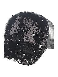 Women's Handmade Sequins Fashion Summer Or Spring Simple Sun Heart Print Baseball Hats Caps