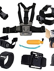 Sports Action Camera Tripod Multi-function Foldable Adjustable All in One Convenient ForAll Gopro Xiaomi Camera Gopro 4 Black SJCAM