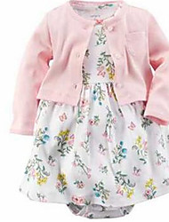 Baby Casual/Daily Print Clothing Set Spring Fall