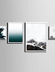 E-HOME® Framed Canvas Art   Simple Natural Scenery And Plant Series (1) Theme Series Framed Canvas Print One Pcs