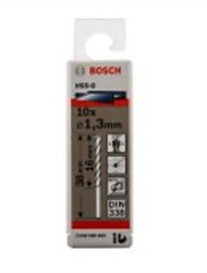 Bosch Hss-G Grinding Hss Drill G1.3 Mm/Package