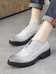 Herren-Sneakers Frühling Komfort Tüll Casual Kaffee schwarz weiß