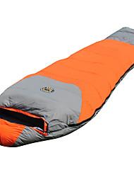 Sleeping Bag Mummy Bag Single -30-20-5 Polyester80 Hiking Camping Traveling Portable Keep Warm