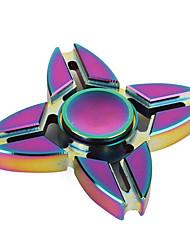 Fidget spinner -stressilelu hand Spinner Lelut neljä Spinner Metalli EDCLievittää ADD, ADHD, ahdistuneisuus, Autism Killing Time Focus