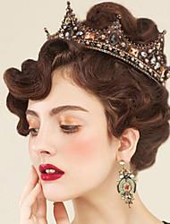 Головной убор сплава rhinestone-wedding специальный случай штыря волос tiaras напольный 1 часть