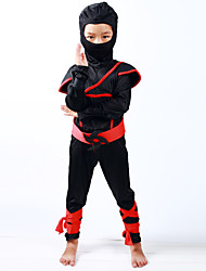 Stealth Ninja Boys Costume Child Samurai Warrior Anime Cosplay Classic Halloween Costumes Ninja Costumes for Kids