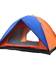 2 Personen Zelt Einzeln Automatisches Zelt Einzimmer Camping Zelt 1000-1500 mm Glasfaser OxfordFeuchtigkeitsundurchlässig Wasserdicht