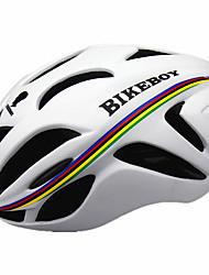 Sport Herrn Unisex Fahhrad Helm 18 Öffnungen Radsport Radsport Bergradfahren M: 55-58cm L: 58-61cm PC EPS Gelb Weiß Schwarz Blau