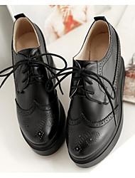 Damen-Sneakers Frühling Komfort PU lässig blushing rosa beige schwarz