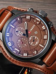 MasculinoRelógio Esportivo Relógio Militar Relógio Elegante Relógio de Moda Relógio de Pulso Bracele Relógio Único Criativo relógio