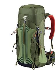 60 L рюкзак Заплечный рюкзак Многофункциональный Зеленый
