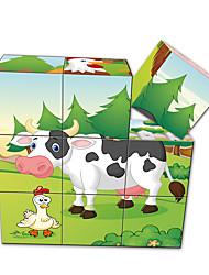 Jigsaw Puzzles 3D Puzzles Building Blocks DIY Toys Square 1 Paper Model & Building Toy