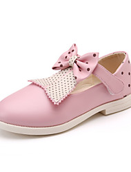 Girls' Sandals Spring Summer Ballerina PU Dress Casual Flat Heel