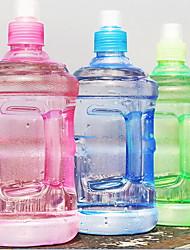 2pcs bouteille d'eau en bouteille en plastique portative pour bouteilles 500ml