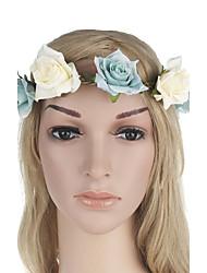 Цветок головного убора цветка розы женщин много цветов цветка