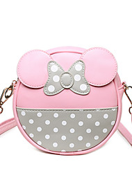 Children Bag Princess Bag Girl  Fashion Baby Wave Point Shoulder Bag