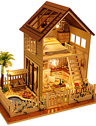 Dollhouse Square Wood Male Unisex