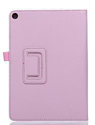 For Case Cover with Stand Flip Full Body Case Solid Color Soft PU Leather for ASUS ZenPad 10 Z300CG M/P00C