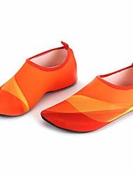 Обувь для плавания Не требуется никаких инструментов Подводное плавание и снорклинг Плавание Лайкра Pезина Оранжевый Синий