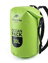 30 L Waterproof Dry Bag Climbing Swimming Beach Surfing Camping & Hiking Waterproof Wearable PVC Naturehike