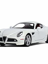 Corrida carro puxar para trás veículos carro brinquedos 1:18 abs plástico vermelho