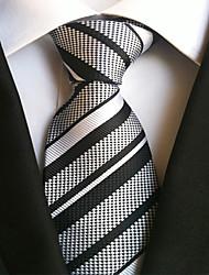 8 Kinds  Polyester Silk Wedding Men's Jacquard Tie Necktie